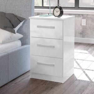 Macy High Gloss Bedside Table